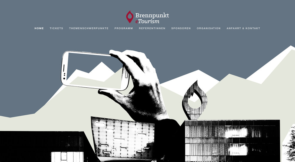 MAMOWORKS Web Design FHS Tourismusforschung Brennpunkt eTourism 2016