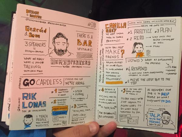 Visual note-taking by Daniel Nobre