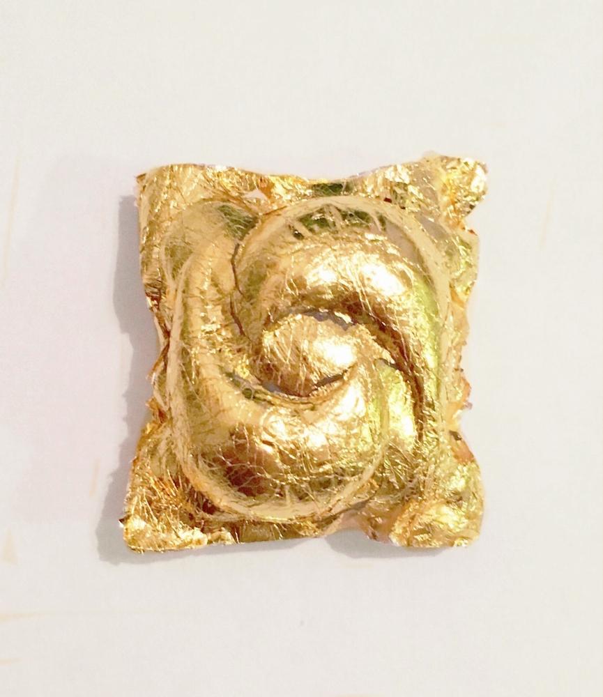 Gold leafed Tide Pod
