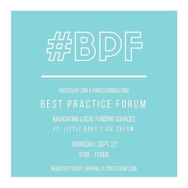 We've got another #BPF coming up on 9/22 featuring @littlebabysic 🍦 link in bio