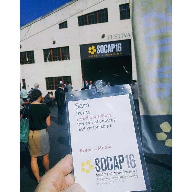 Lookin to meet and greet at #socap16! Keep an eye out for our teammate Sam!