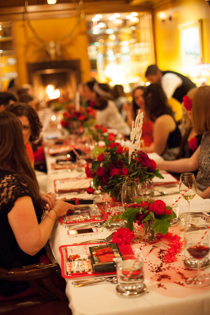Photo of the lovely  Red Stamp  dinner by Brooke Dennis.