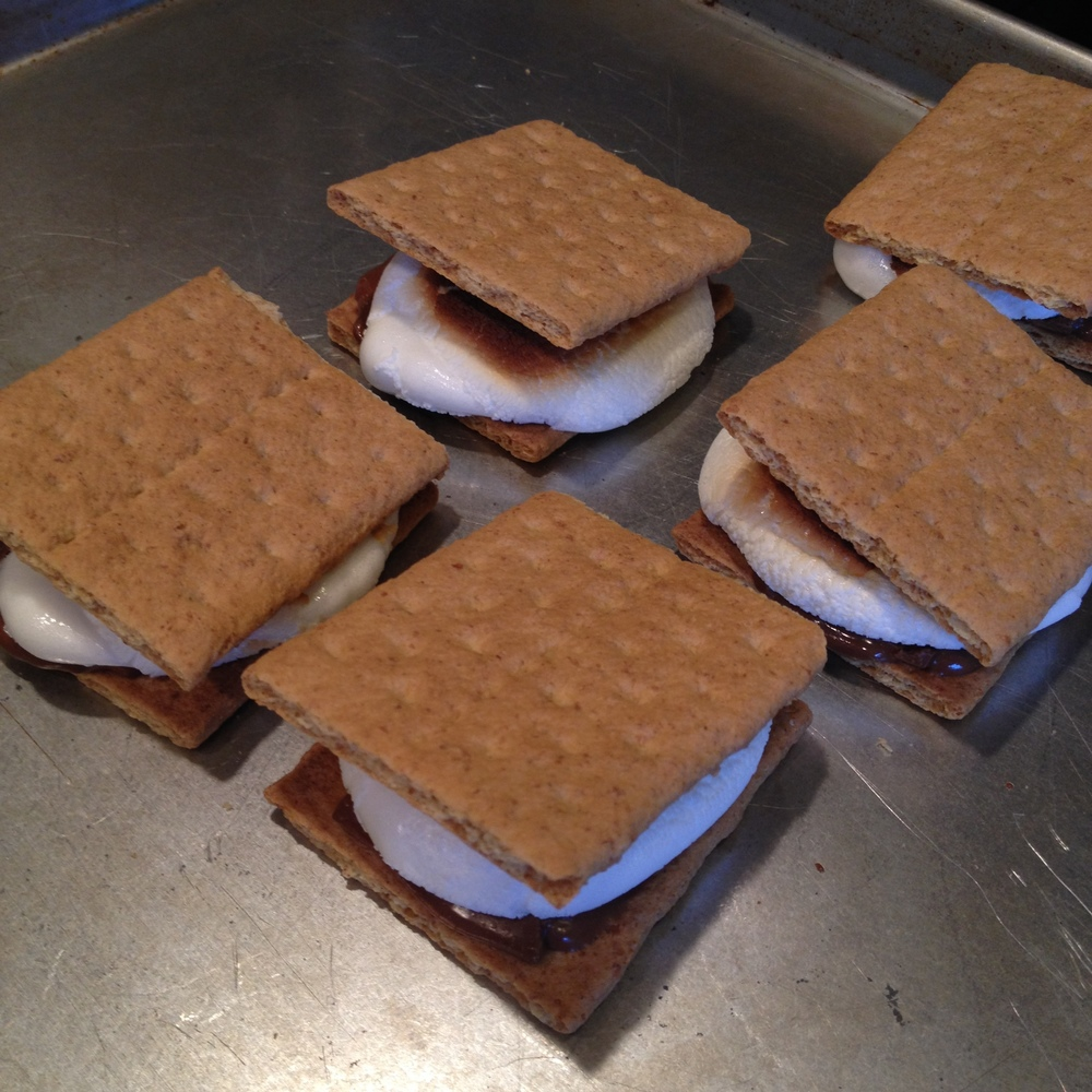 Broiler s'mores.