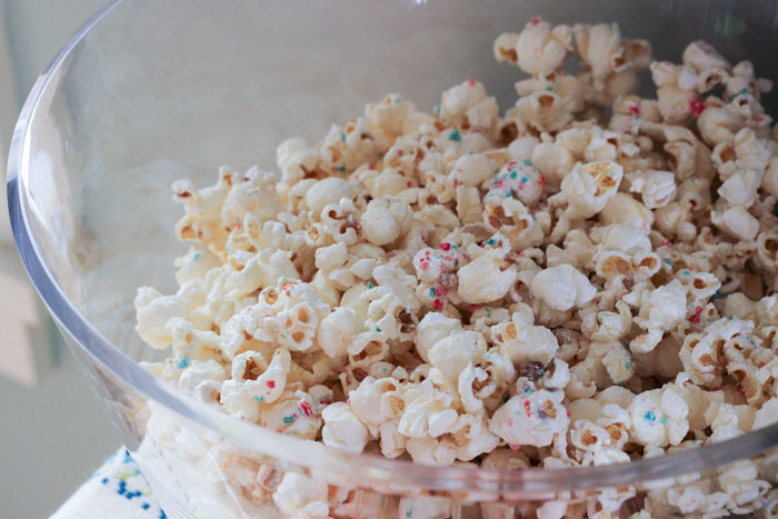 Pop Rocks popcorn via The Proper Blog.