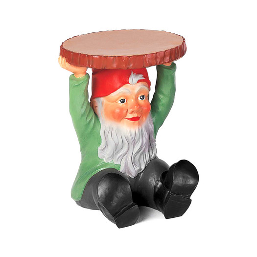 Phillipe Starck gnome stool (Attila) via  Wayfair