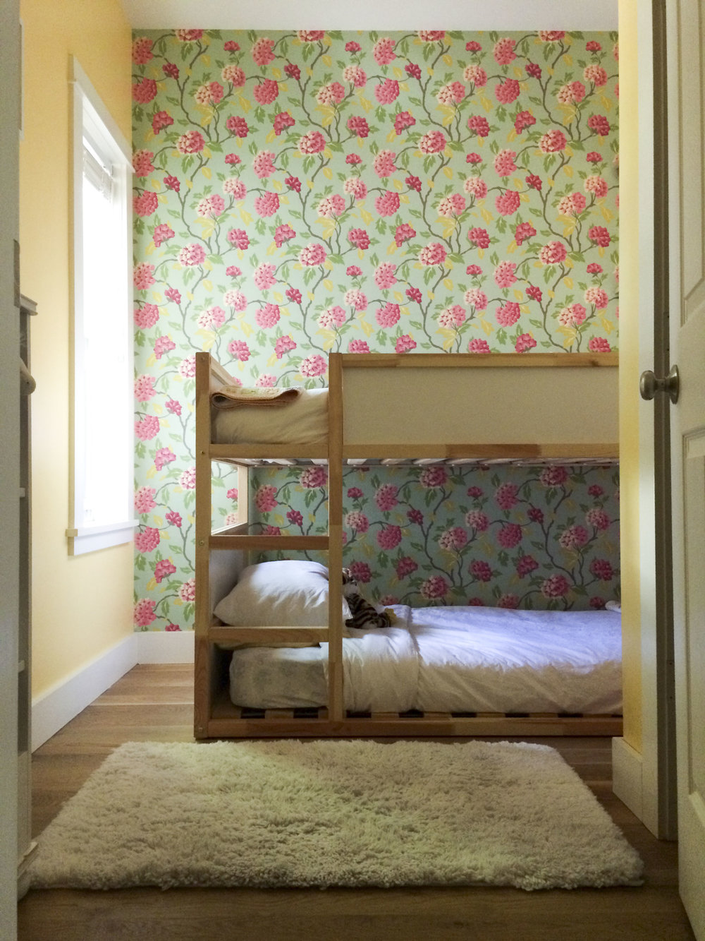 shared tiny kids' room