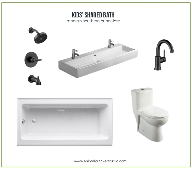 Head's up. Some of these links are affiliate links. I stand to be paid probably less than 25 cents each time you buy something through these links. Buying through these links isn't going to pay for my sink but I sure do appreciate your clicking either way. Shower faucet, similar sink, sink faucets, similar toilet, tub.