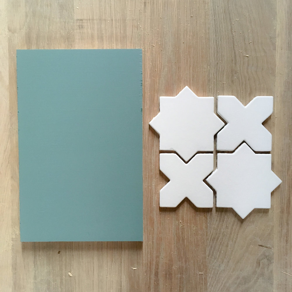 behr in the moment fireclay calcite tile