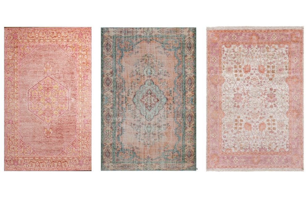 pink rugs  4  /  5  /  6