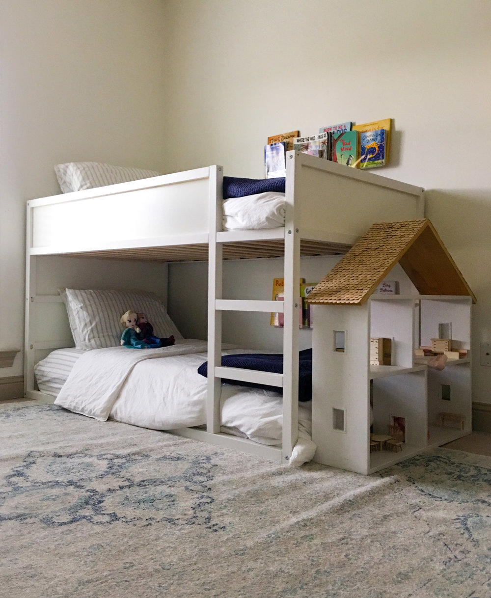 AFTER: bunks for two kids & lots more light