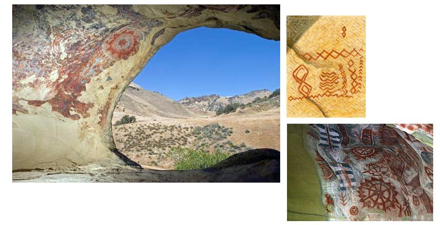 Chumash and Tongva Rock Art