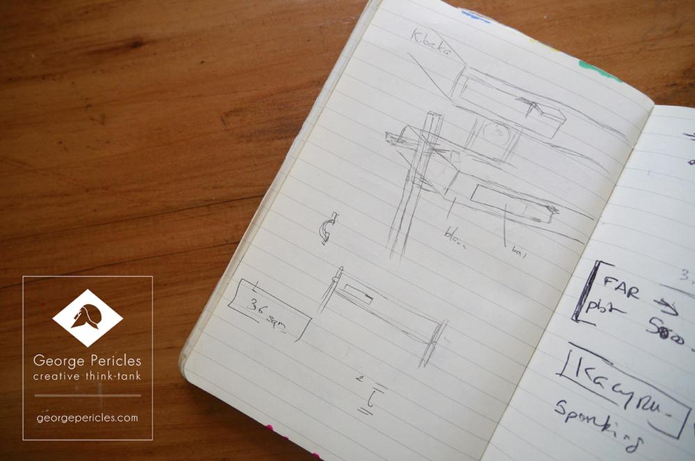 Kubaka Table, preliminary sketch