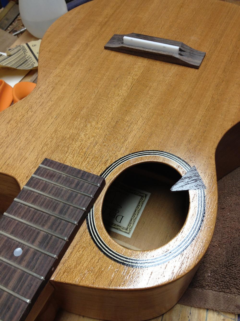 Model Q baritone ukulele