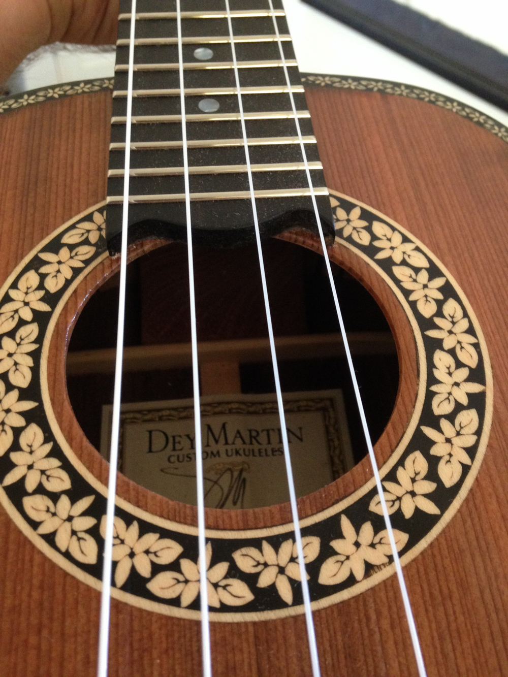 Tenor Ukulele Custom by Dey Martin