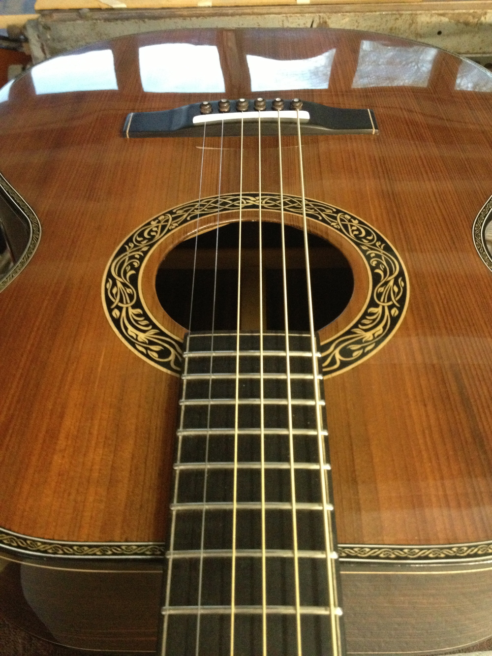 00-DM acoustic steel string guitar by Dey Martin.