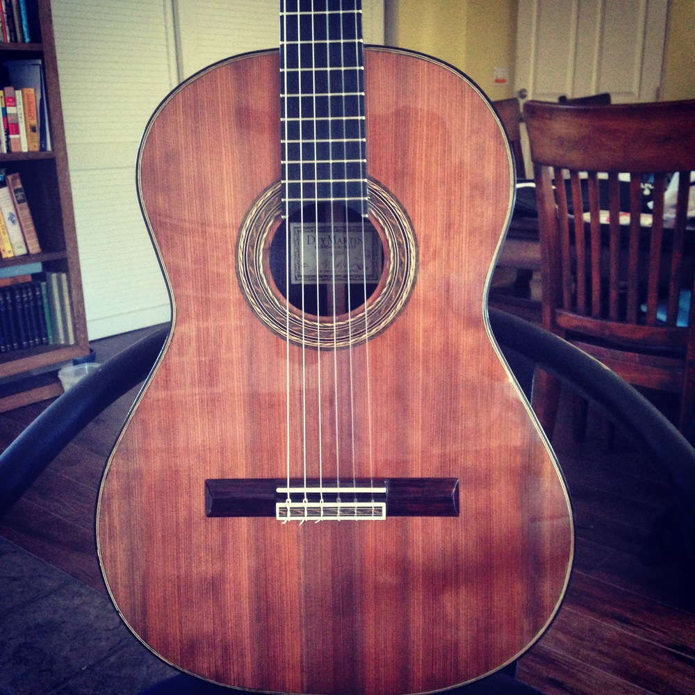 Dey Martin classical guitar no. 11.     SOLD