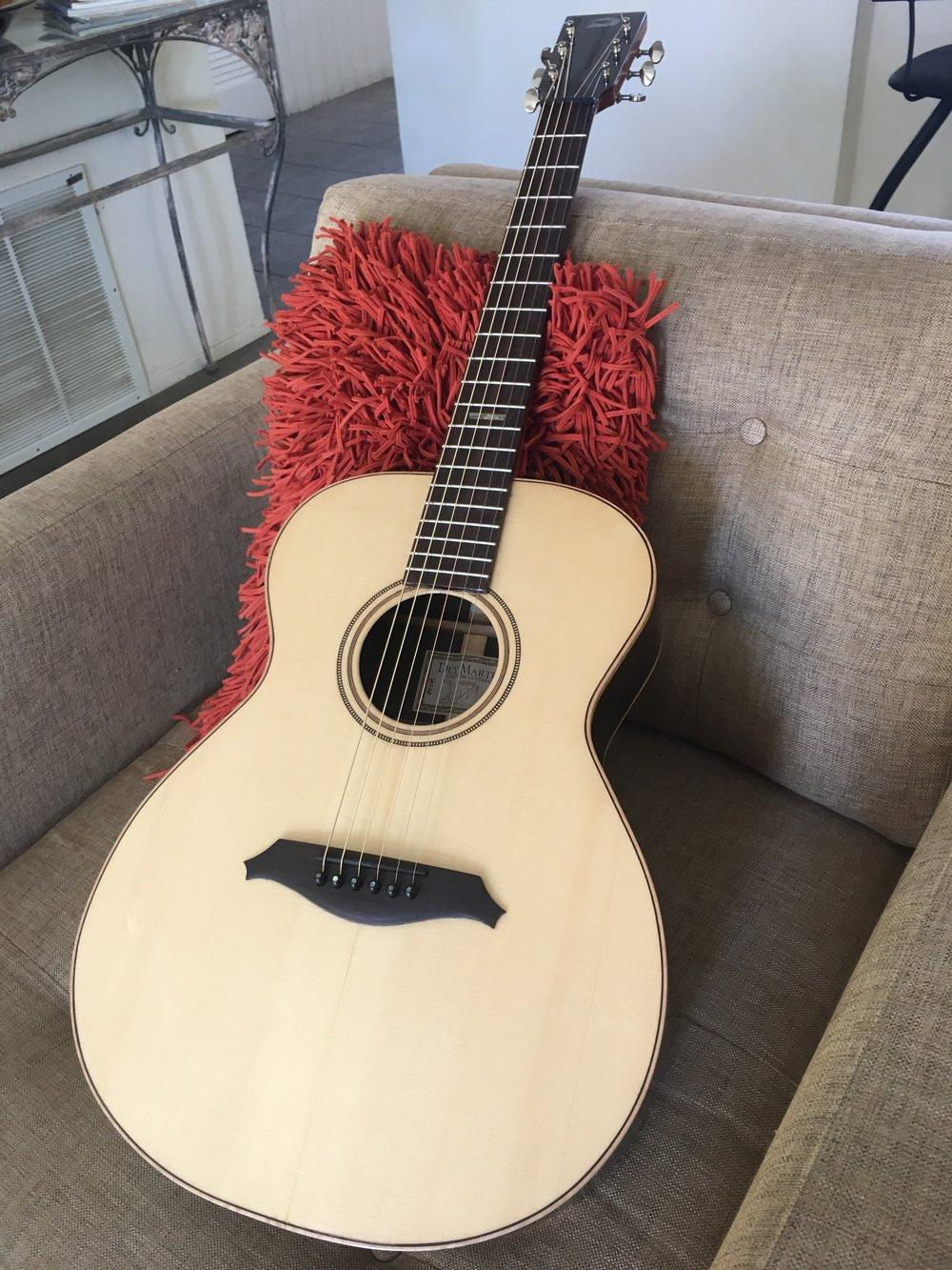 OO Dey Martin guitar