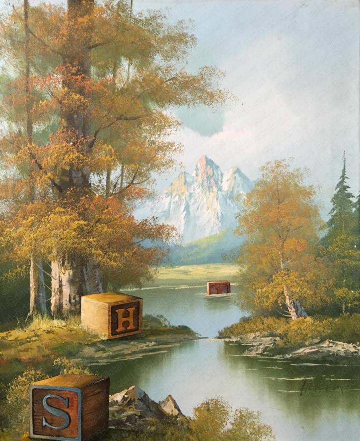 'Artist's Block' - Sold