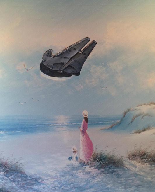 'Flyin' Solo' - Sold