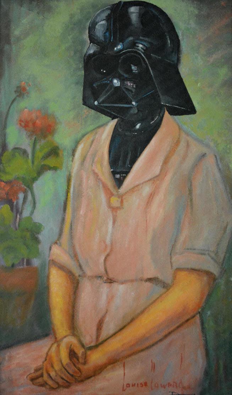 'Lady Vader' - Sold
