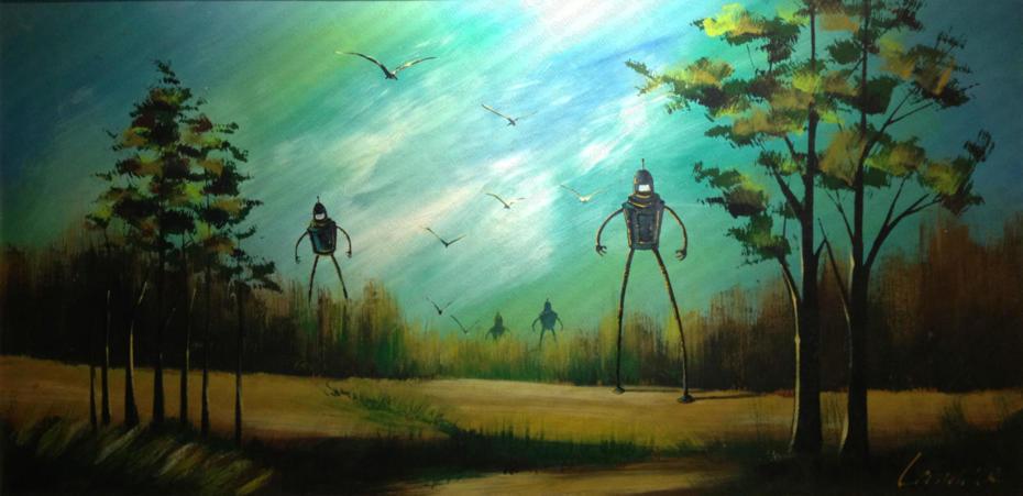 'On a Bender' - Sold