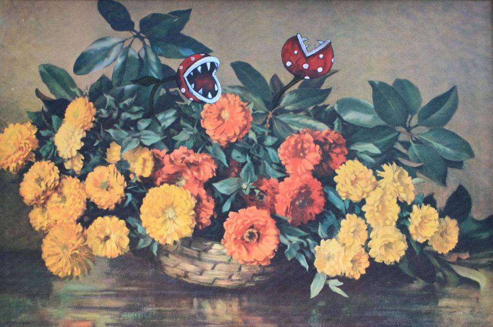 'Piranha Bouquet' - Sold