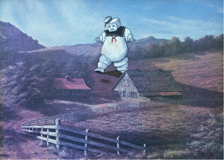 'Stay Puft' - Sold
