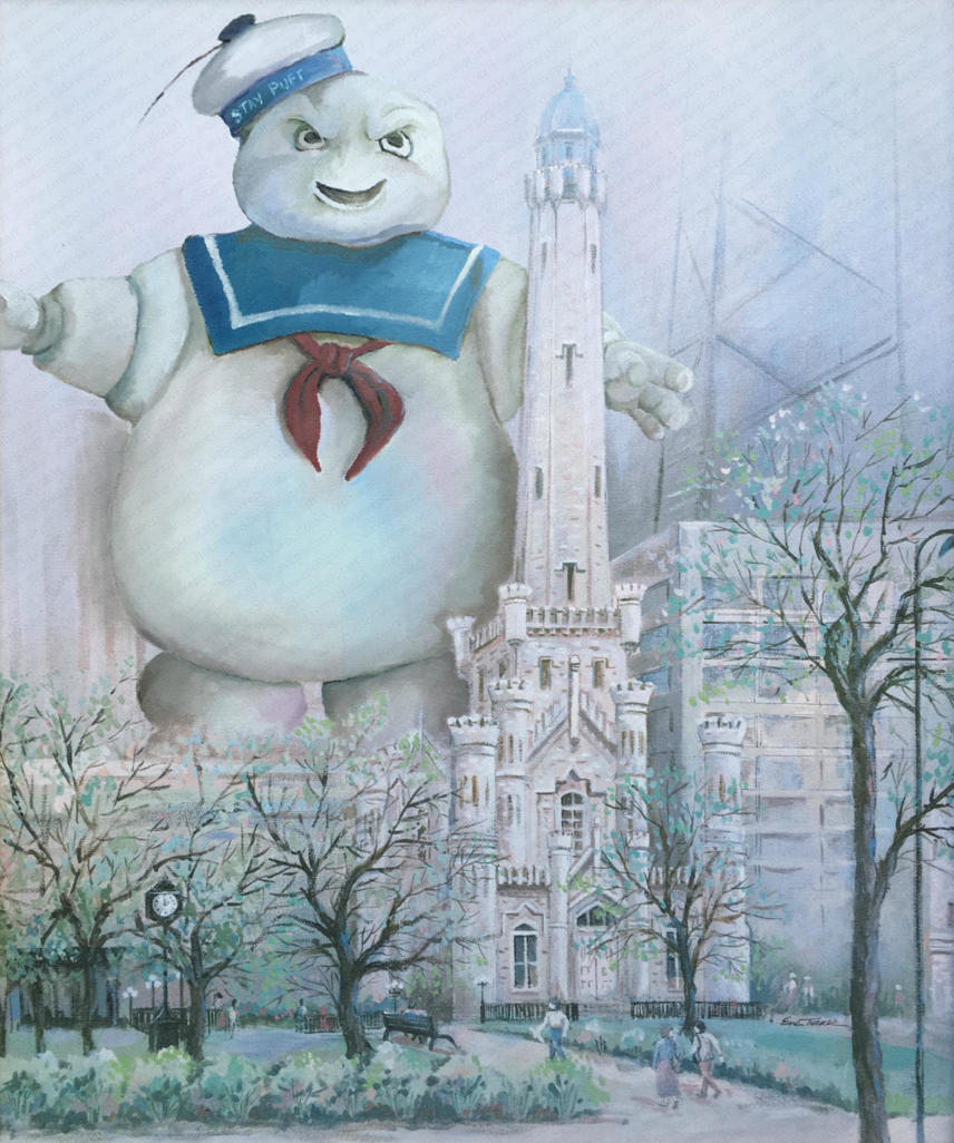 'Stay Puft III' - Sold