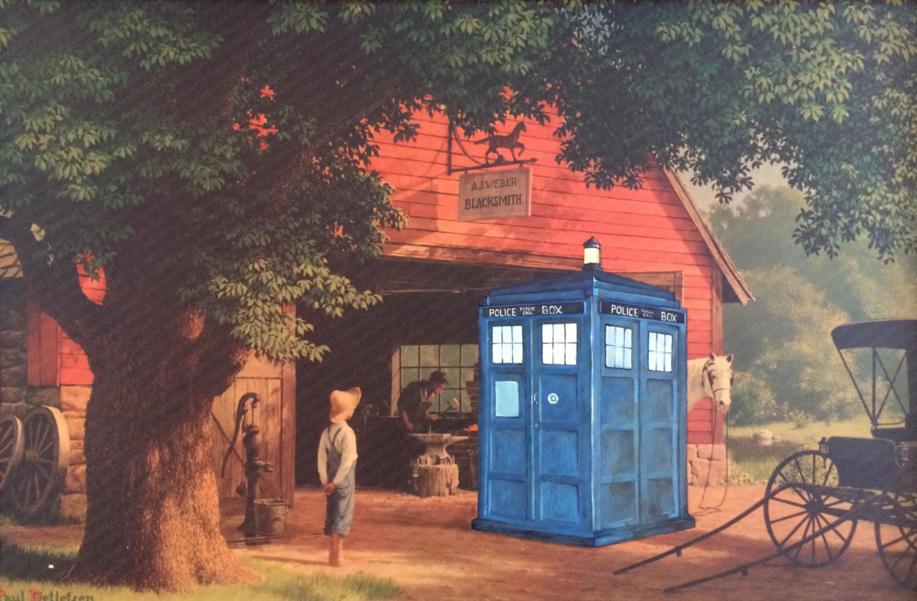 'TARDIS' - Sold