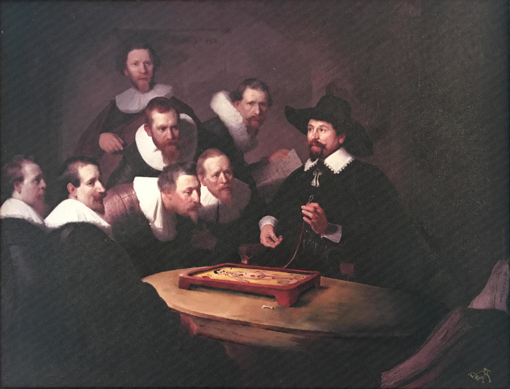 'The First Anatomy Lesson of Dr. Nicolaes J. Tulp' - Sold