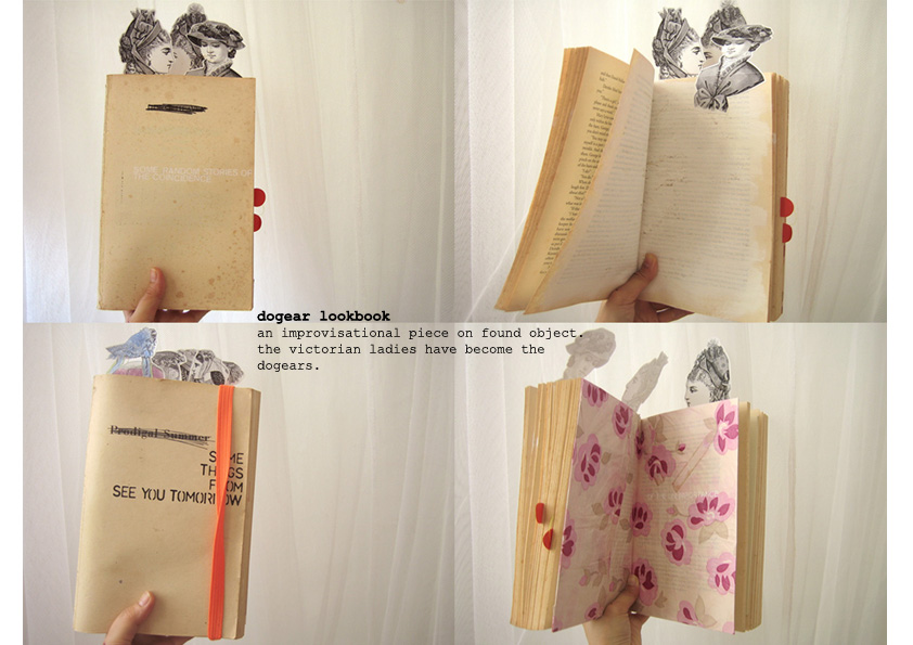 Self-initiated project: renewing old book.