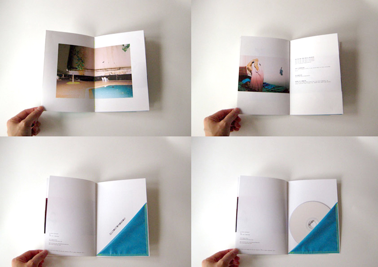 Self-released music album. The CD packaging was designed in a book/zine form, with photography by Aiwei Foo.