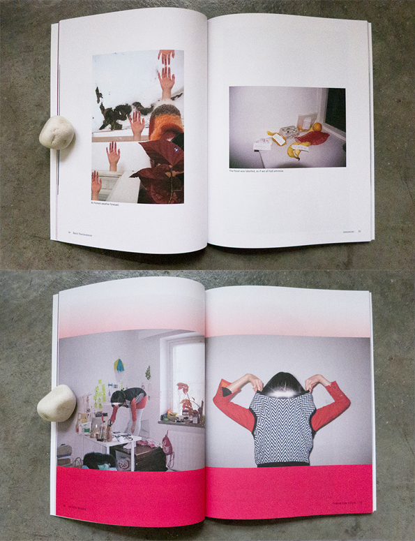 Semi Private Life in Helsinki   is a visual journal in four parts. It documents the every-other-day life of the artist during her years in Finland.  SEMI PRIVATE LIFE IN HELSINKI (Winter issue) 95 Pages Perfect-bound Paperback 190 x 245 mm Full Colour Offset