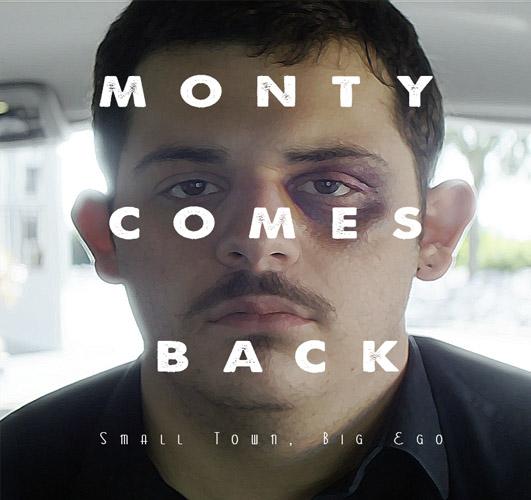 Monty Comes Back Mock Poster
