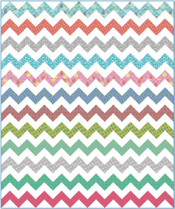 Urban Chevrons by Nancy Mahoney Urban Classics