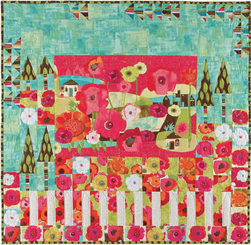 Joyful Garden by Janet Mednick Always Blooming
