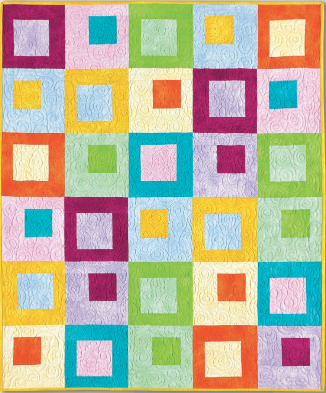 Hopscotch by Nancy Mahoney Suede Flannels Brights & Babies