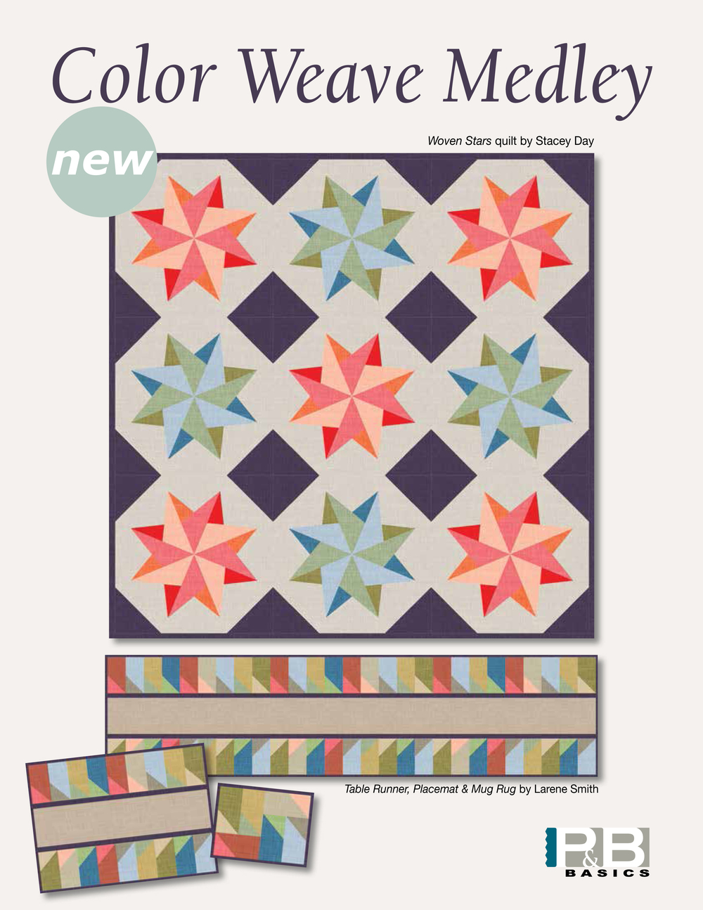 Woven Star by: Stacey Day Color Weave Medley