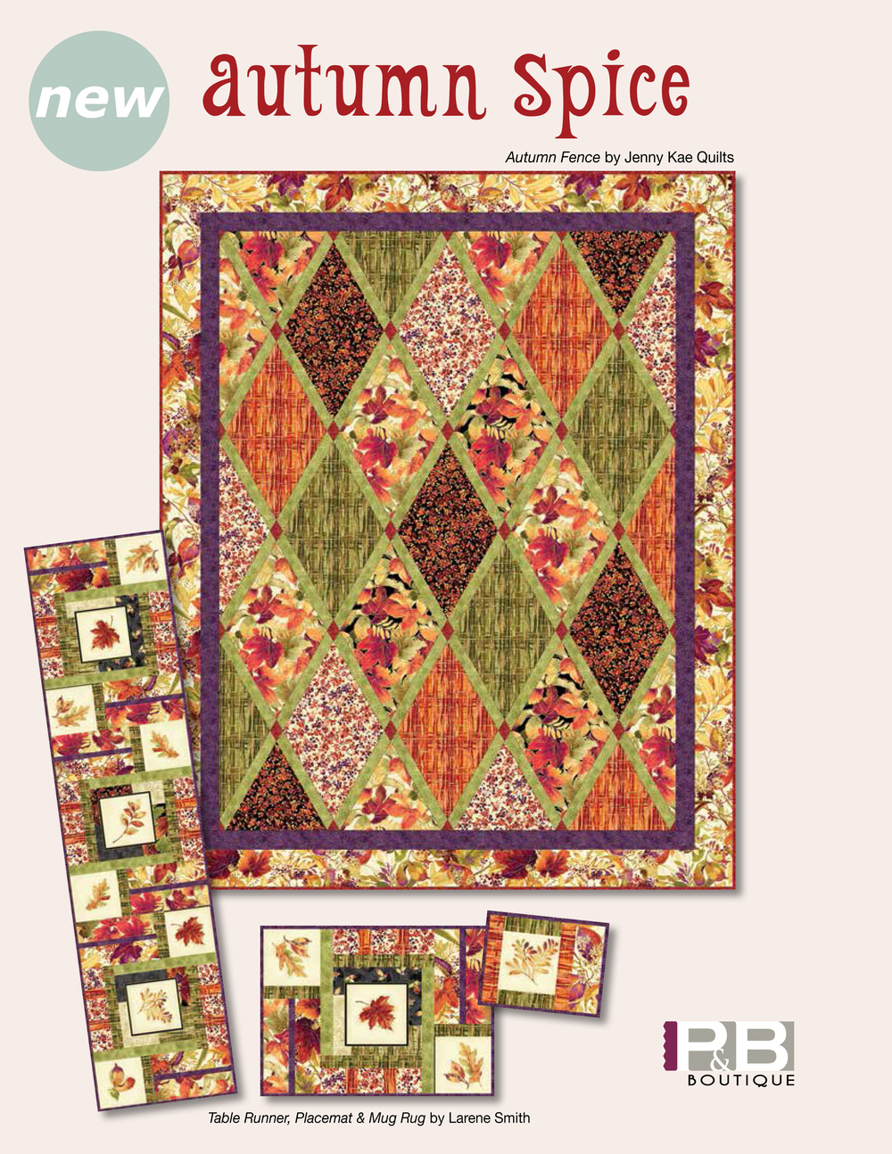 Autumn Fence by: Jenny Kae Quilts Autumn Spice
