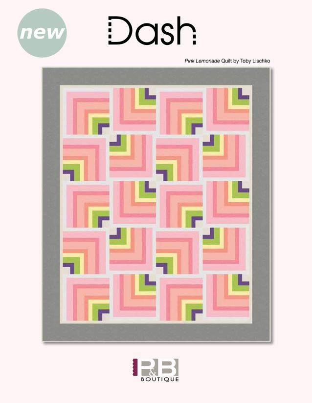 Pink Lemonade Quilt by: Toby Lischko Dash