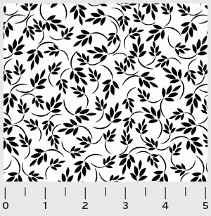 RA11 772 W leafs on vine