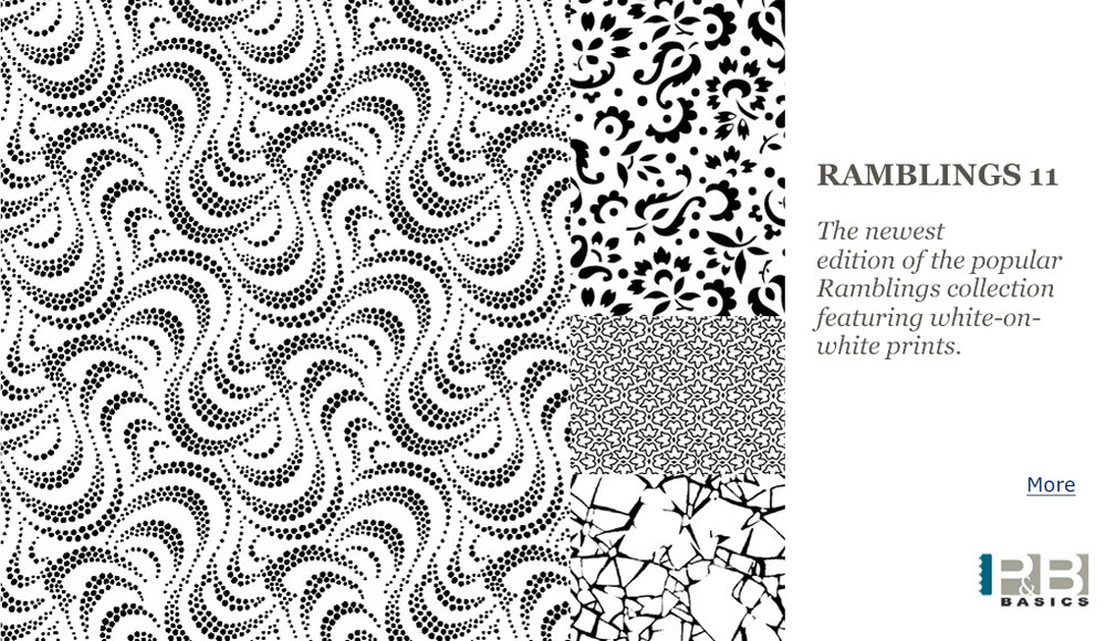 Ramblings 11 Quilt Fabric Collection