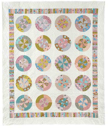 This is the original Wheel of Fortune by Jean Nolte. You can purchase the Fons & Porter pattern here.