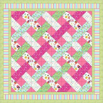 "Quilt size: approximately 77"" x 93"""