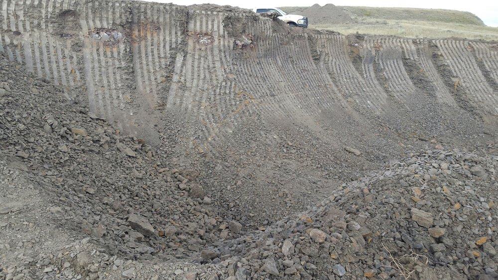Excavating the mine