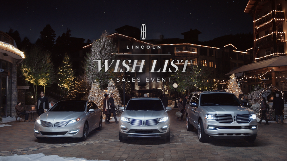 LINCOLN   | WISH LIST EVENT