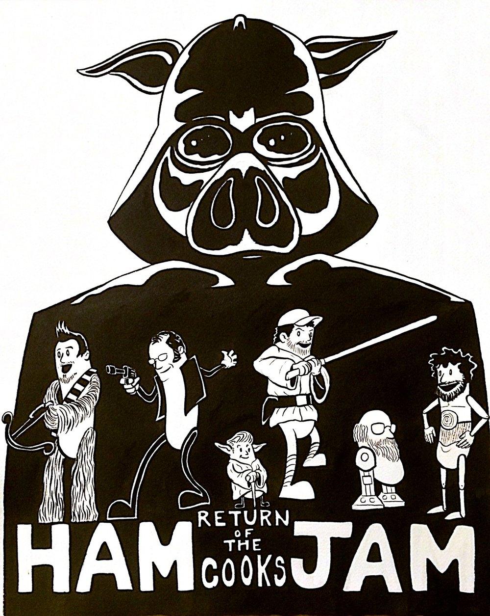 Ham Jam IV shirt design