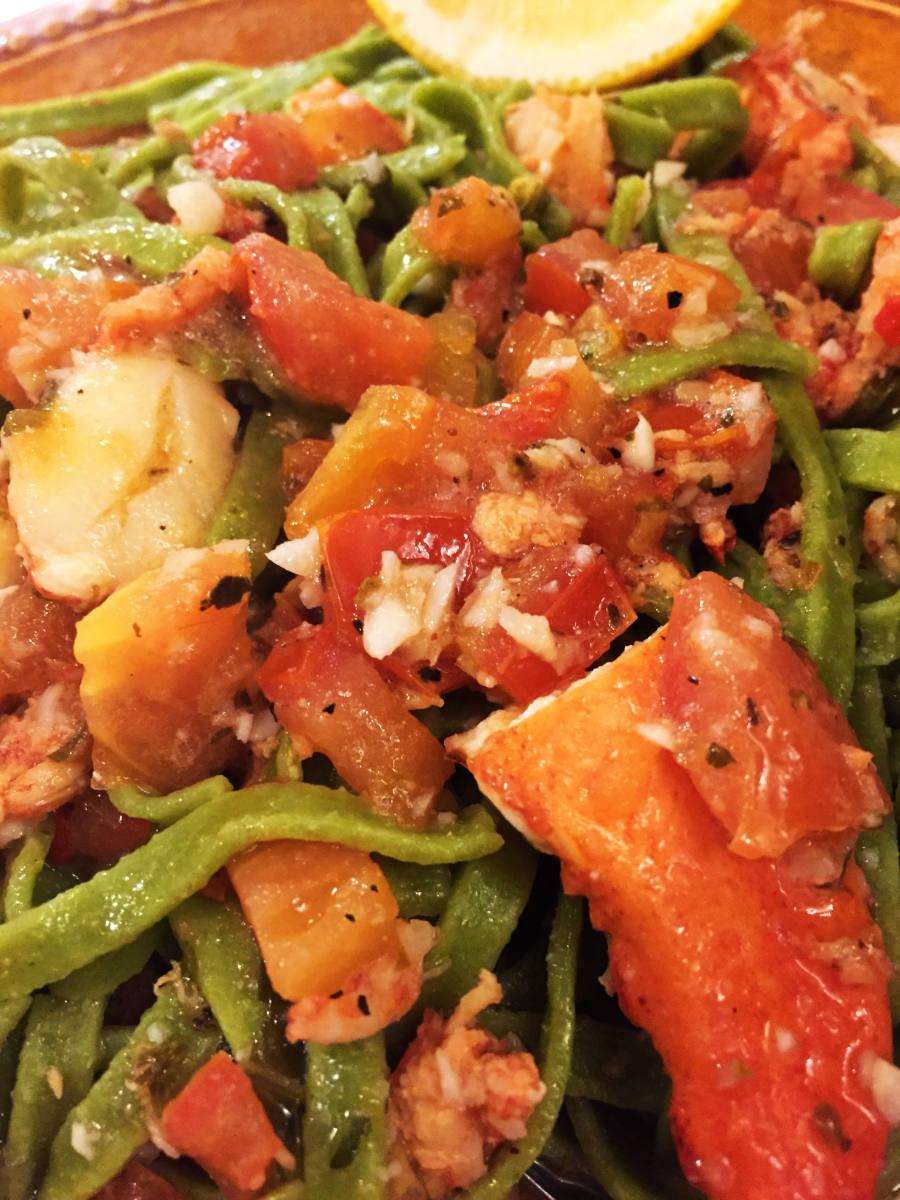 Lobster Scampi-Pomodoro