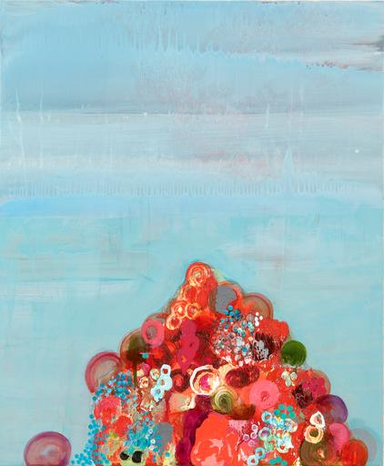 Gurgle , 2009   Oil on panel  18 x 15 in (45.72 x 38.1 cm)  Courtesy of  the artist   Signed on verso
