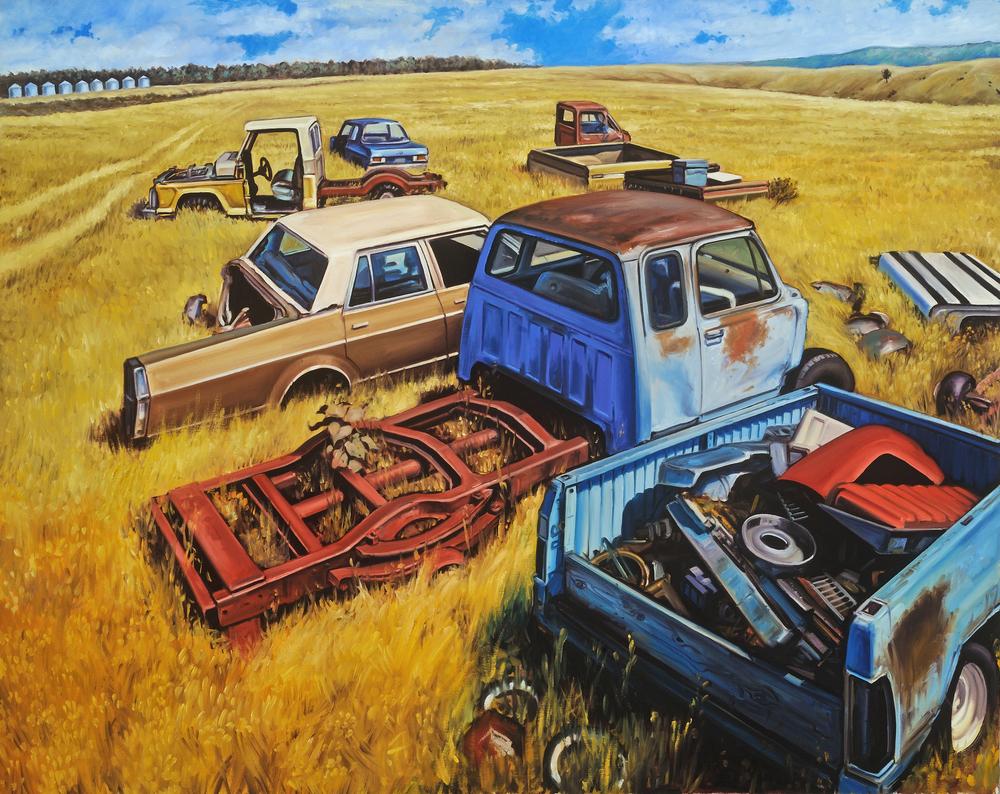 """Parts Yard"" $7500"